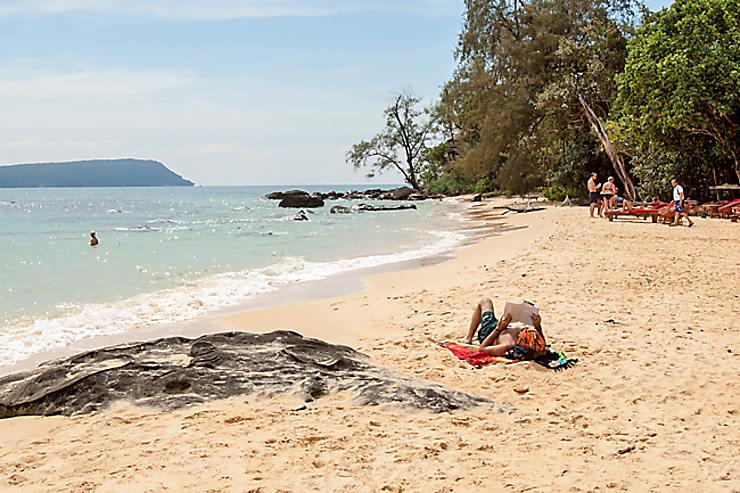 Le Cambodge, côté mer