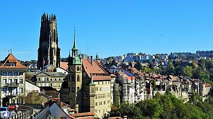 Vue de Fribourg