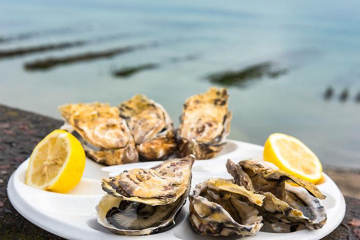 Les huîtres et les épices de Cancale