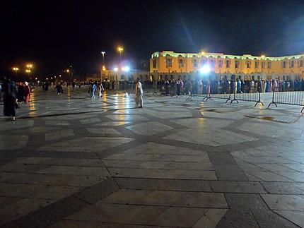 Place de la mosquée Hassan 2