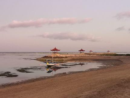 Bali, plage de Sanur