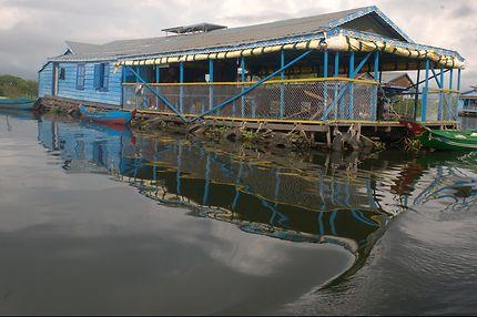 Le lac Tonlé Sap