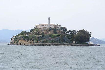 L'île Alcatraz aux États-Unis