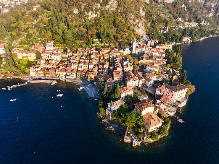 Les villages du lac de Côme