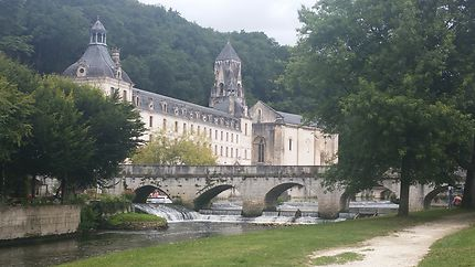 L'abbaye de Brantôme