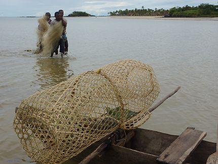 Retour de pêche à Andilana