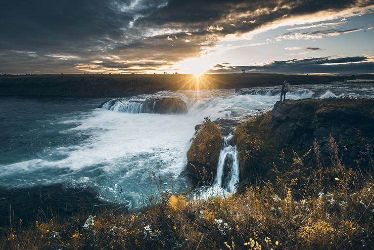 Cascade d'Ægissíðufoss, Islande