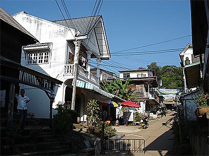 Le village de Huay Xai