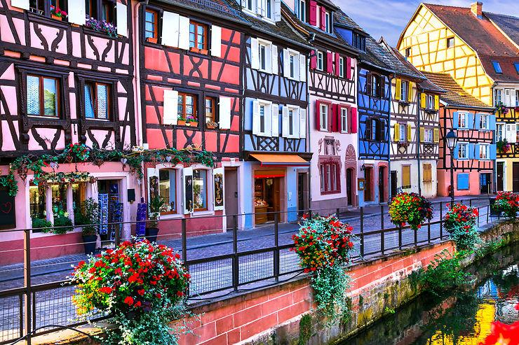 Colmar et la route des Vins d'Alsace (Haut-Rhin)