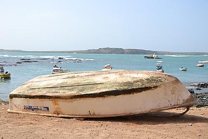 Barque de pêcheurs à Sal Rei