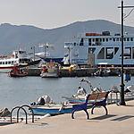 Balade dans le port de Loutra Edipsou