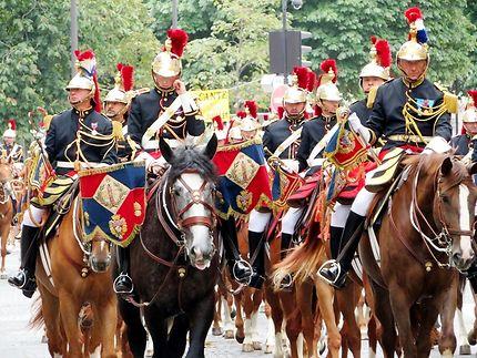 La garde Républicaine de Paris (cavalerie)
