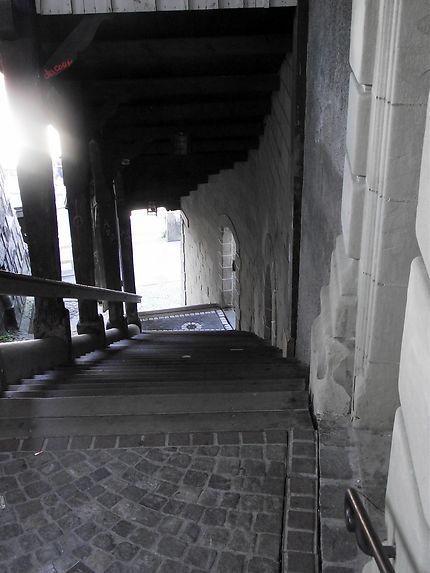 Escalier du marché