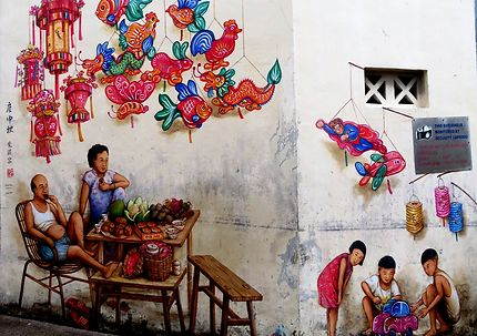 Street art (Yip Yen Chong, 2018)