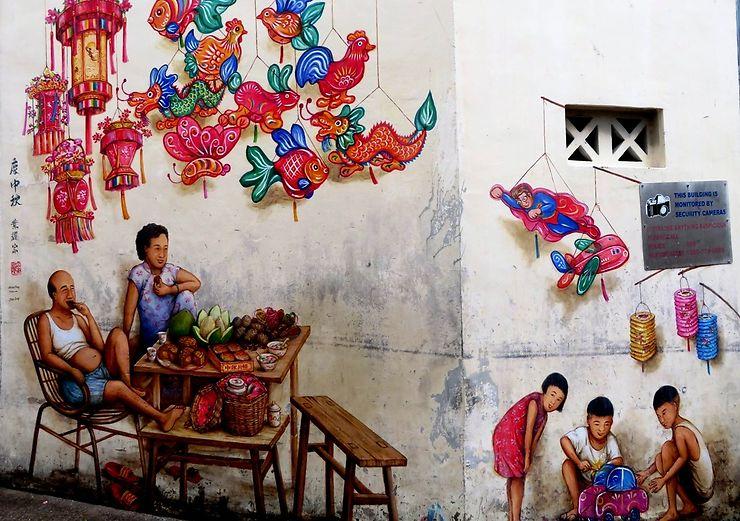 Street art, Singapour