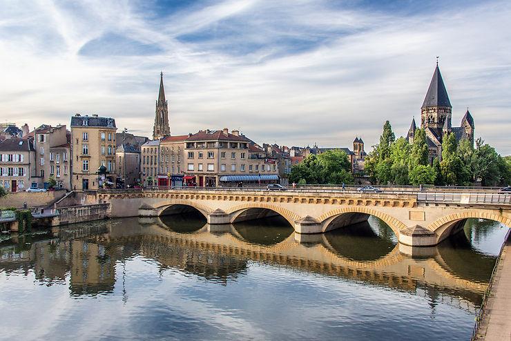 Metz, la surprenante