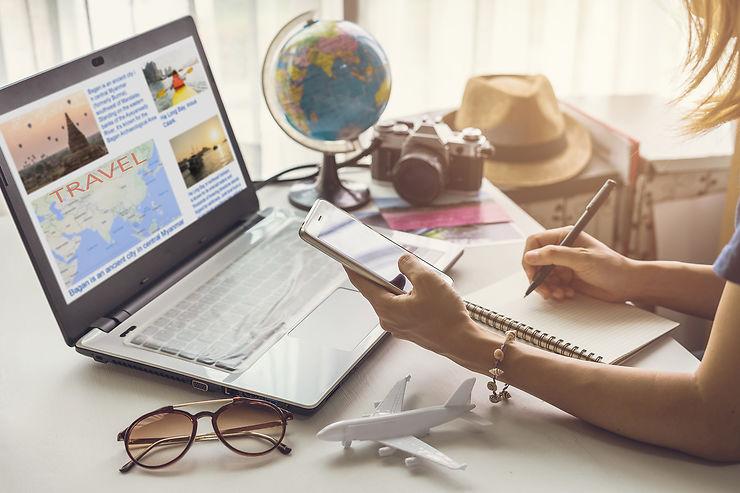 Les applications pour organiser son voyage