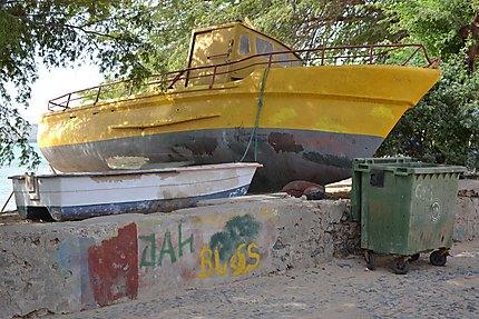 Bateau de pêcheurs à Sal Rei