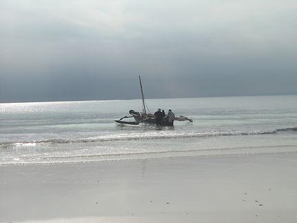 Pêcheurs kenyans