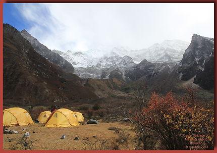 Trek du Jomolari : Au pied du Masang Khang