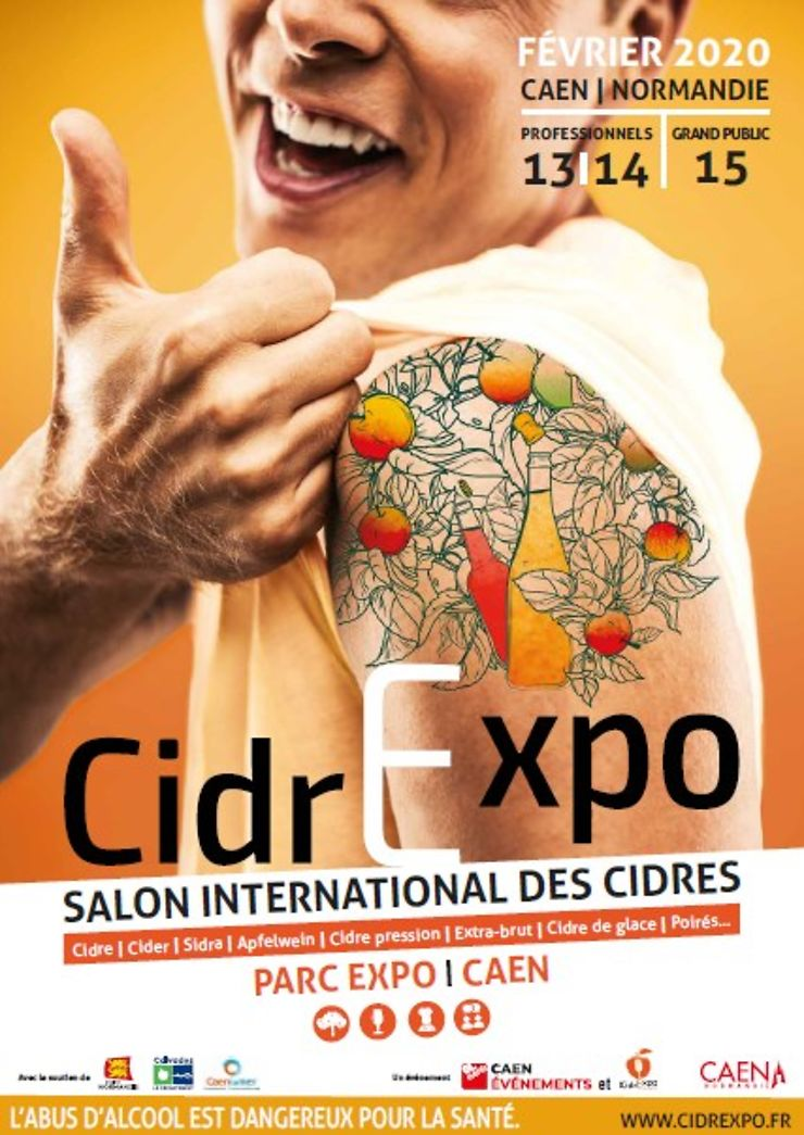 CidrExpo, salon international du cidre à Caen