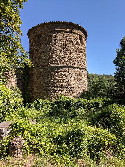 Ancienne tour du chateau (Thorrenc)