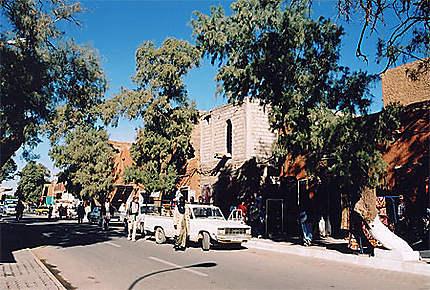 Centre ville de Tamanrasset