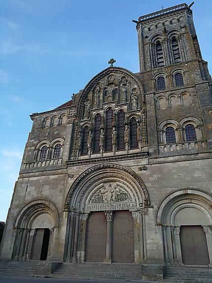 Le portail de la basilique de Vézelay