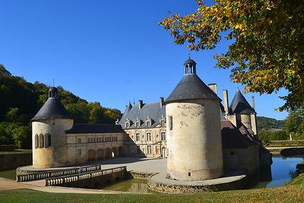 Façade principale du Château de Bussy Rabutin