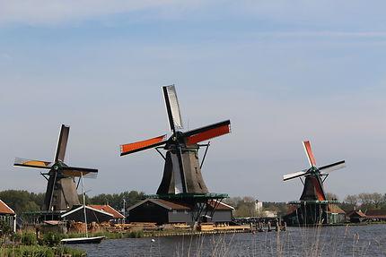 Mon beau moulin de Zaanse Schans