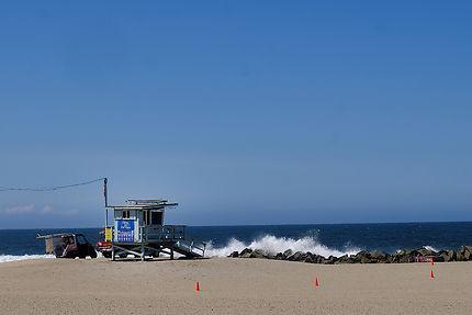 Sur la plage de Venice Beach
