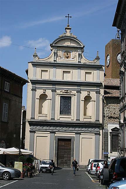 Une église à Orvieto