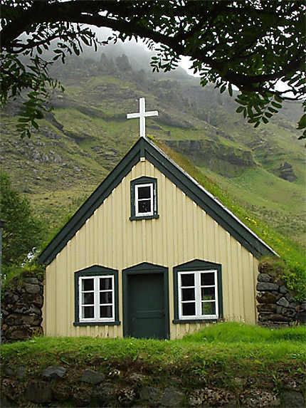 Une des plus vieille église d'Islande...