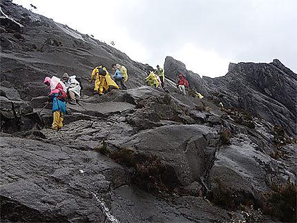 Le chemin du Kinabalu