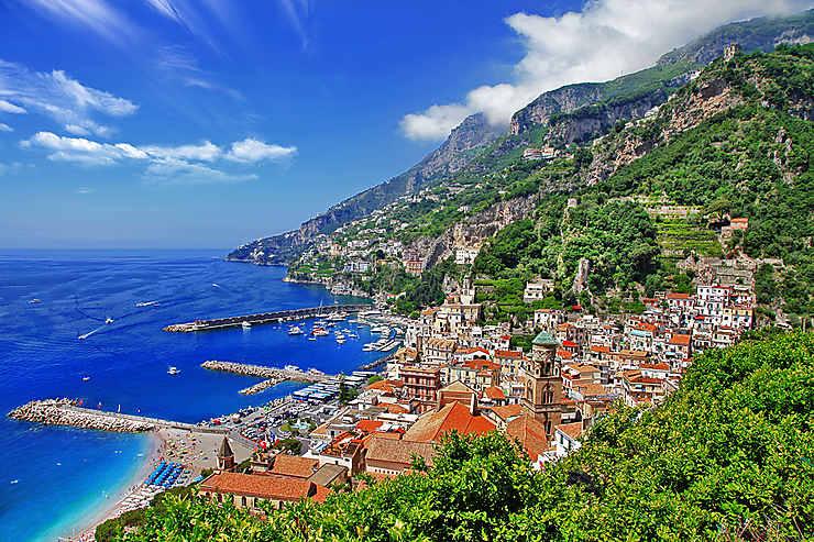 La côte amalfitaine, joyau de l'Italie du Sud