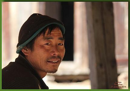 Trek du Jomolari. 6ème jour à Lungu