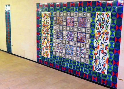 Céramique Fresque Manuel Cargoléiro (1995)