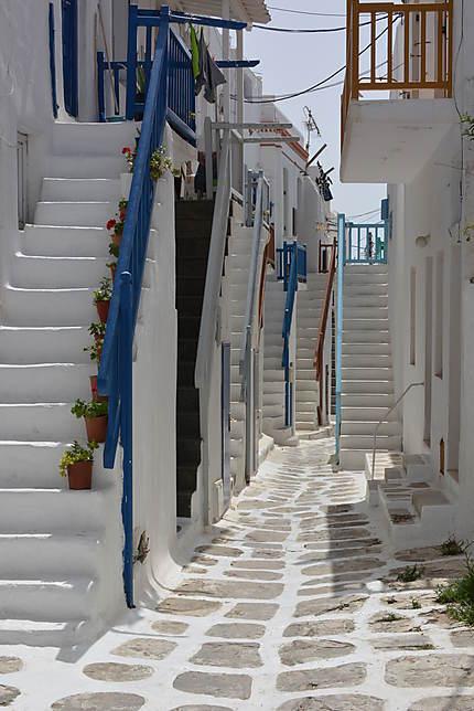 La vieille ville de Mykonos