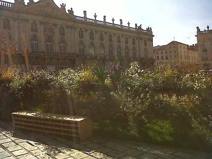 Jardin éphémère de la place stanislas à Nancy