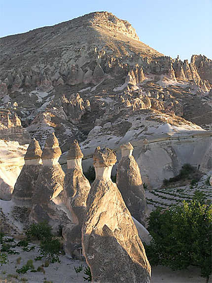 Cheminees De Fees Cappadoce Anatolie Centrale Turquie