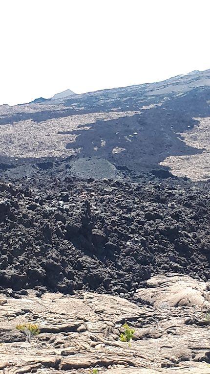Coulée de lave, Piton de la Fournaise, La Réunion
