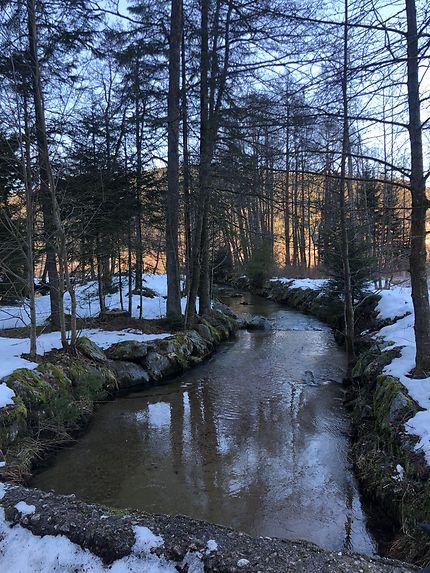 Vers le lac de Gérardmer