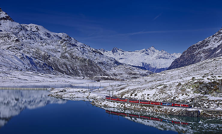 Bernina Express, Suisse