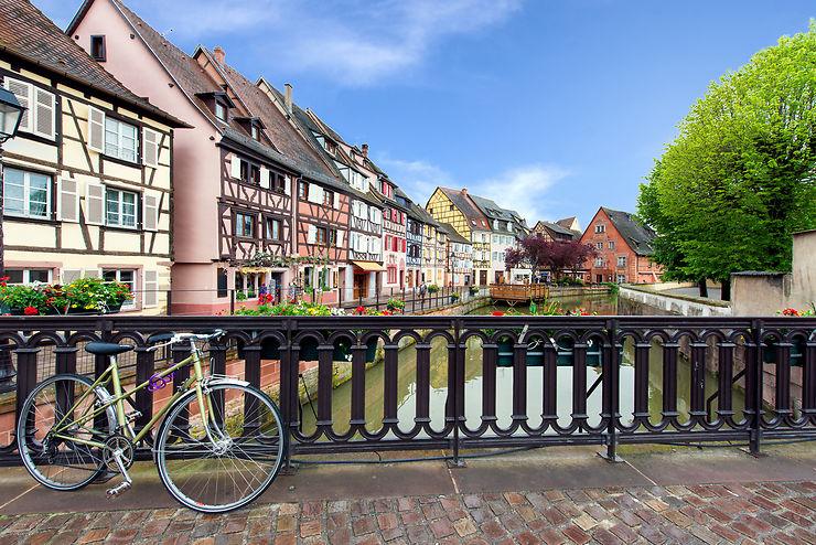 Les parcours cyclables d'Alsace