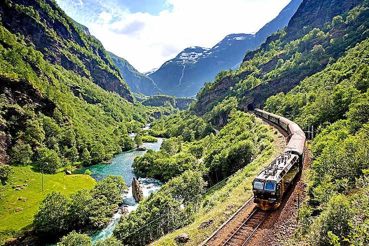Flåmsbana, Norvège