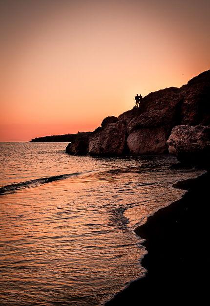 Towards the sunset