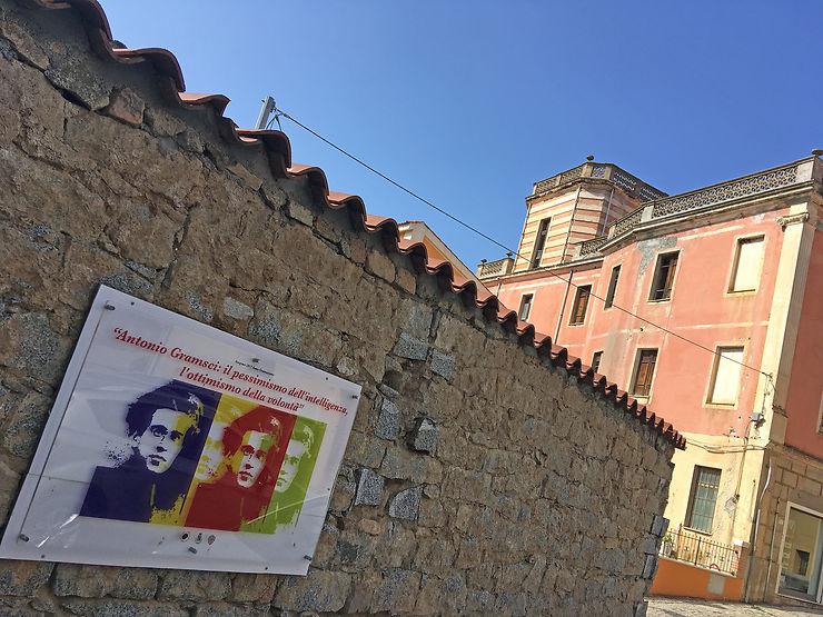 Le terrain d'aventure d'Antonio Gramsci à Sorgono