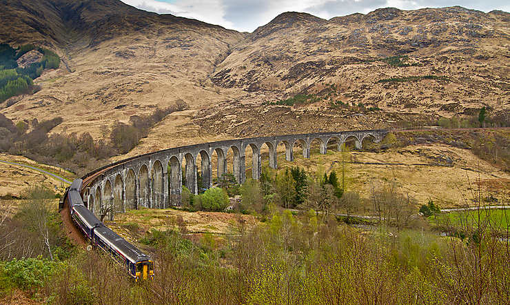 West Highland Line, Écosse