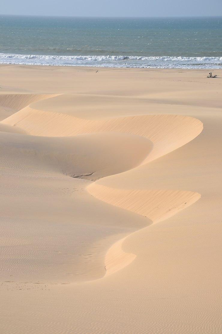 Dunes de Praia de Chaves, Île de Boa Vista, Cap-Vert
