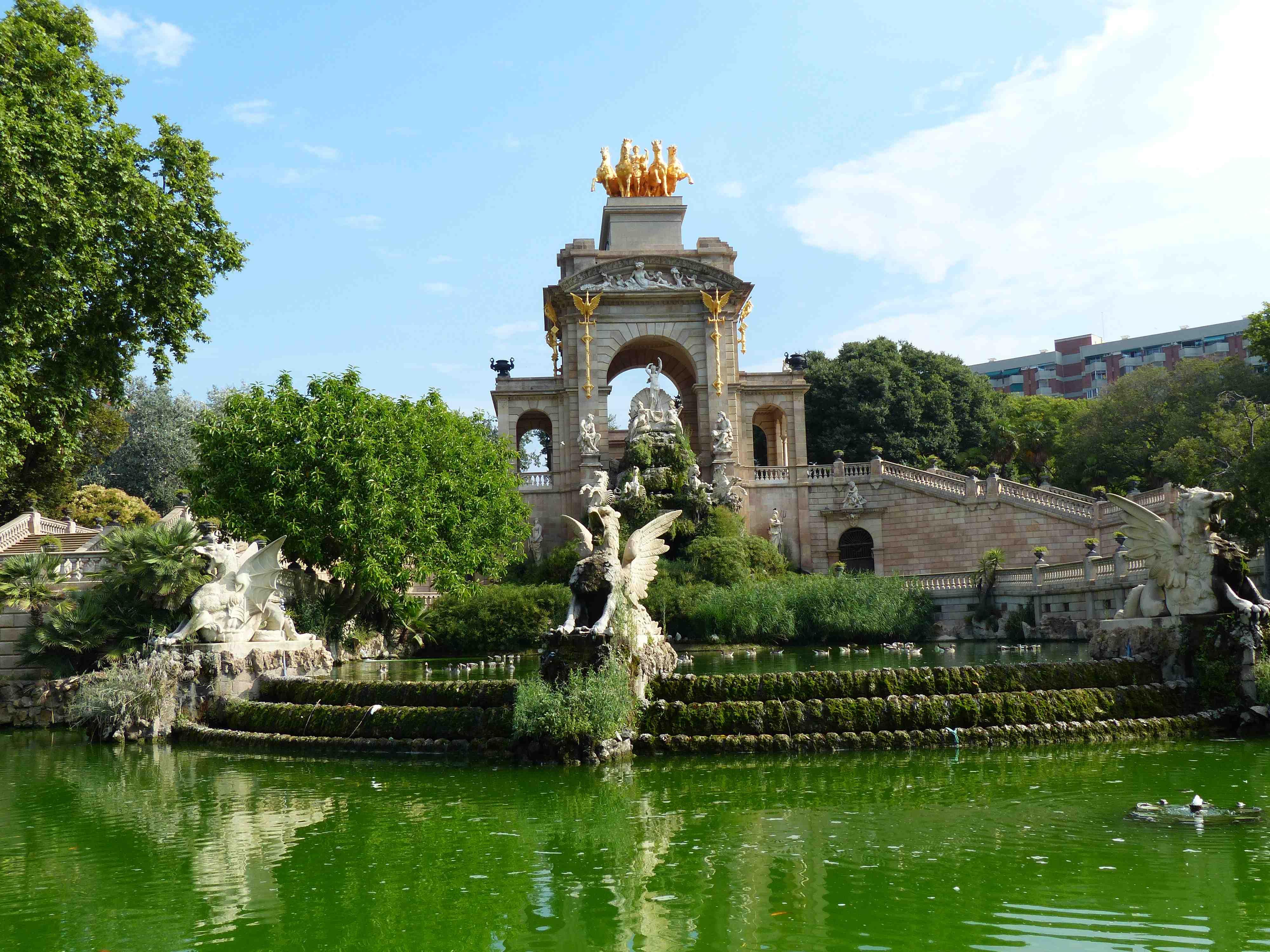 Parc de la Ciutadella - Barcelone